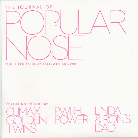 V/A - The Journal of Popular Noise Vol.1 - Issues 10-12