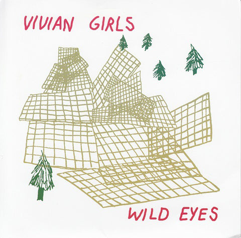 fusetron VIVIAN GIRLS, Wild Eyes/My Baby Wants Me Dead