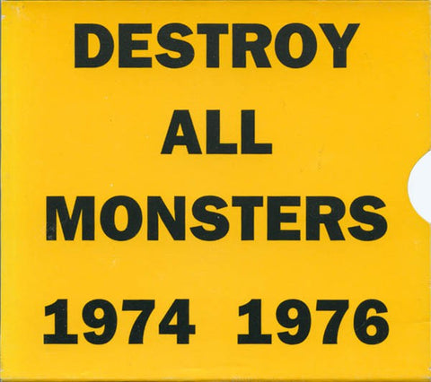 fusetron DESTROY ALL MONSTERS, 1974-1976