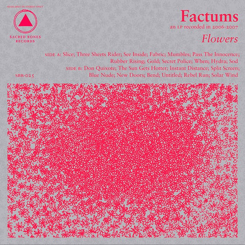 fusetron FACTUMS, Flowers