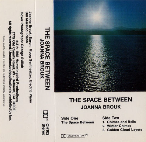 fusetron BROUK, JOANNA, The Space Between