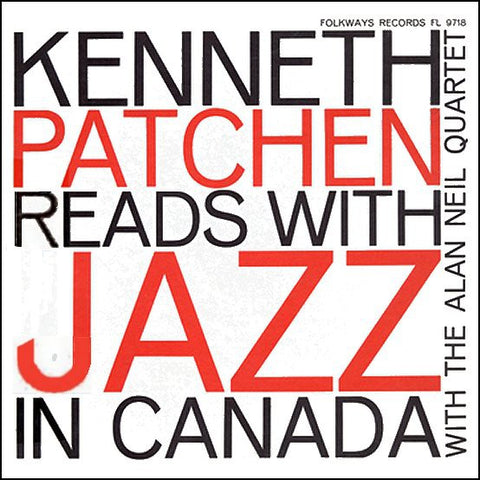 fustron PATCHEN, KENNETH, Reads with Jazz in Canada