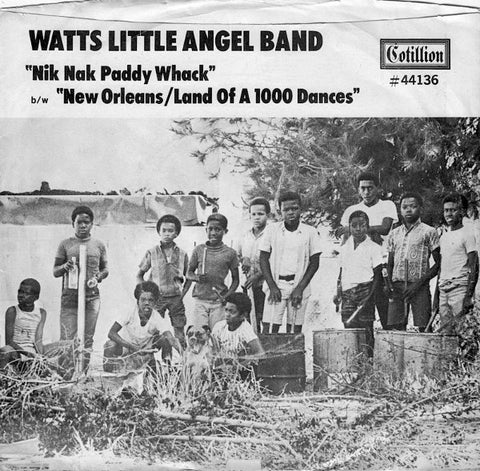 fusetron WATTS LITTLE ANGEL BAND, New Orleans/Land Of A 1000 Dances/Nik Nak Paddy Whack