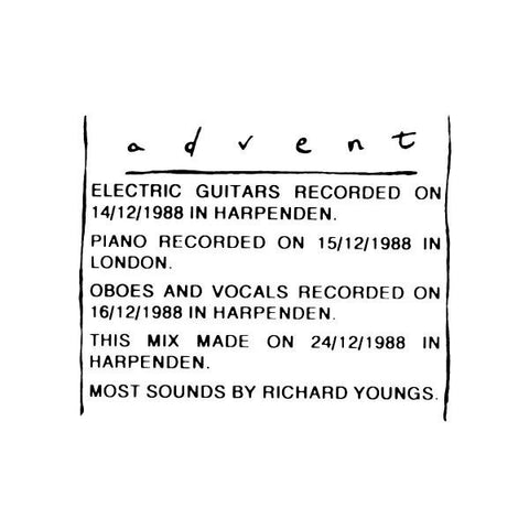 YOUNGS, RICHARD- Advent