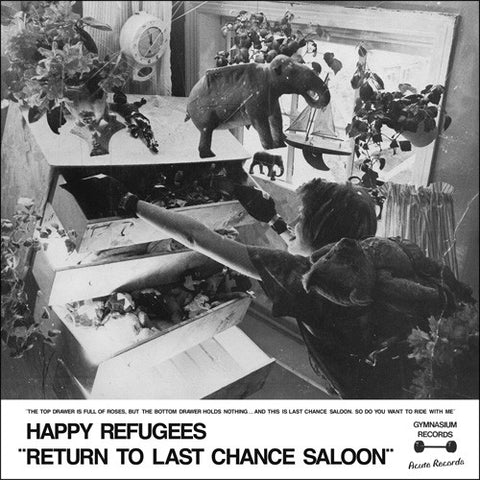fusetron HAPPY REFUGEES, Return To Last Chance Saloon