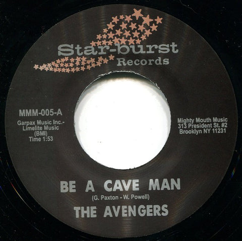 fusetron AVENGERS, THE, Be A Cave Man