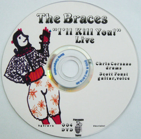 "THE BRACES - ""I'll Kill You!"" - Live"