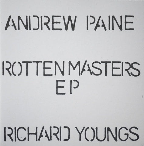 fustron YOUNGS, RICHARD & ANDREW PAINE, Rotten Masters