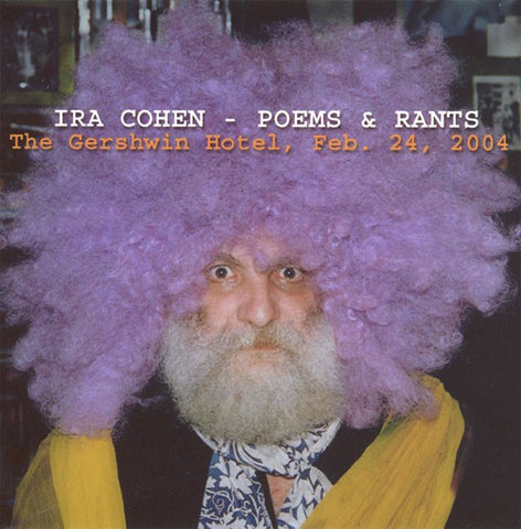 fusetron COHEN, IRA, Poems & Rants