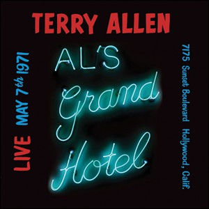 fusetron ALLEN, TERRY, Live at Als Grand Hotel, May 7, 1971