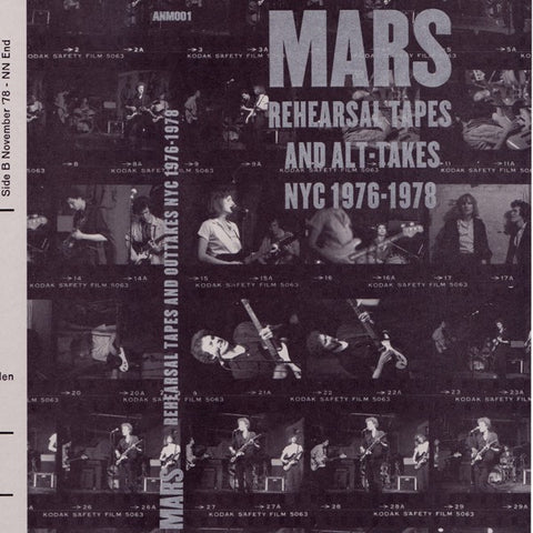 fusetron MARS, Rehearsal Tapes and Alt-Takes NYC 1976-1978
