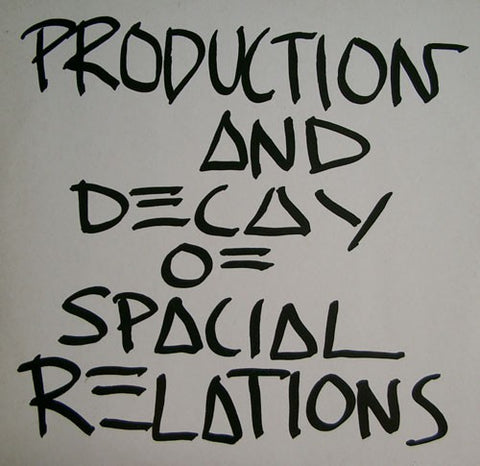 fustron ZEV, Production and Decay of Spacial Relations...
