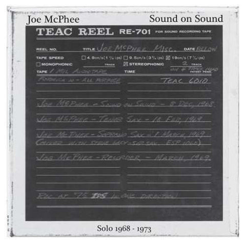fusetron MCPHEE, JOE, Sound On Sound: Solo 1968-1973