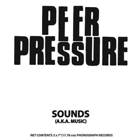 fustron PEER PRESSURE, Sounds (A.K.A. Music)