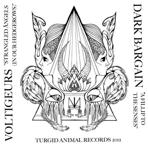 VOLTIGEURS / DARK BARGAIN - Split