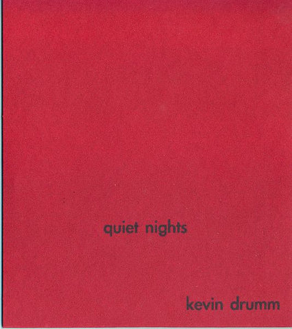 fusetron DRUMM, KEVIN, Quiet Nights