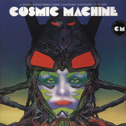 V/A - Cosmic Machine The Sequel: A Voyage Across French Cosmic & Electronic Avantgarde (70s-80s) (Splatter Vinyl)