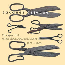 fusetron LEJEUNE, JACQUES, Parages and Other Electroacoustic Works 1971-1985