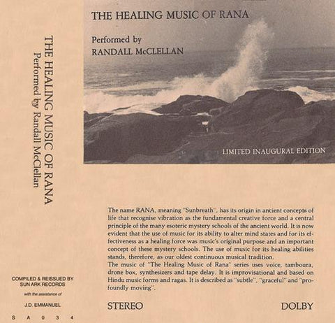 fusetron MCCLELLAN, RANDALL, The Healing Music Of Rana