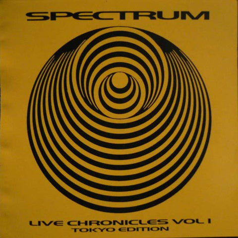 fusetron SPECTRUM, Live Chronicles Volume 1