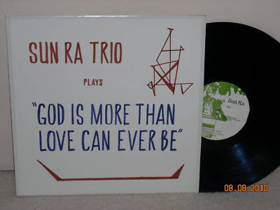 fusetron SUN RA, God Is More Than Love Can Ever Be
