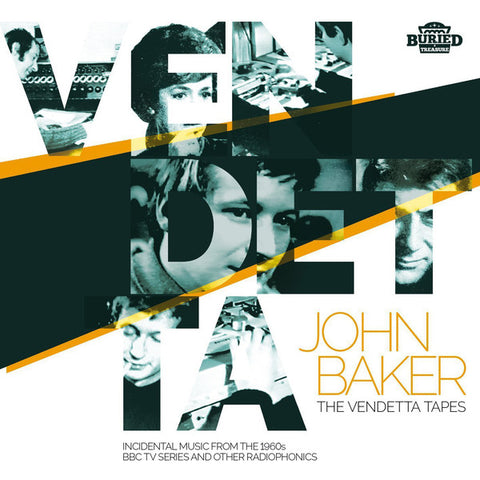 BAKER, JOHN & THE BBC RADIOPHONIC WORKSHOP - The Vendetta Tapes