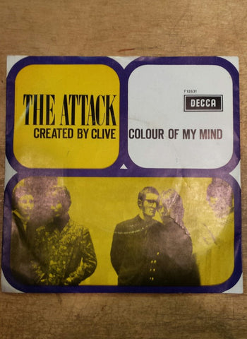 fustron ATTACK, THE, Created By Clive/ Colour Of My Mind
