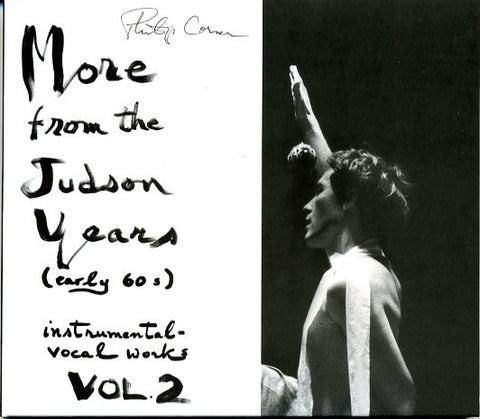fusetron CORNER, PHILIP, More from the Judson Years (Early 60s) Instrumental-Vocal Works Vol. 2