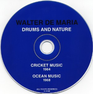 fustron DE MARIA, WALTER, Drums And Nature