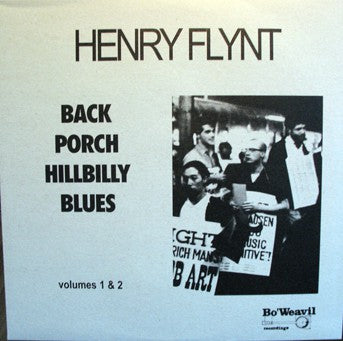 fustron FLYNT, HENRY, Back Porch Hillbilly Blues, Vol. 1