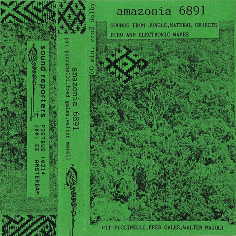 fusetron PICCINELLI, PIT, FRED GALES, WALTER MAIOLI, Amazonia 6891: Sounds From Jungle, Natural Objects, Echo And Electronic Waves
