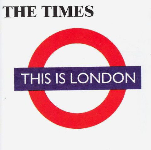 fusetron TIMES, THE, This Is London