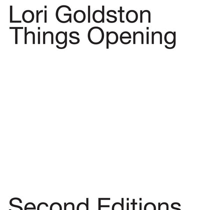 GOLDSTON, LORI - Things Opening