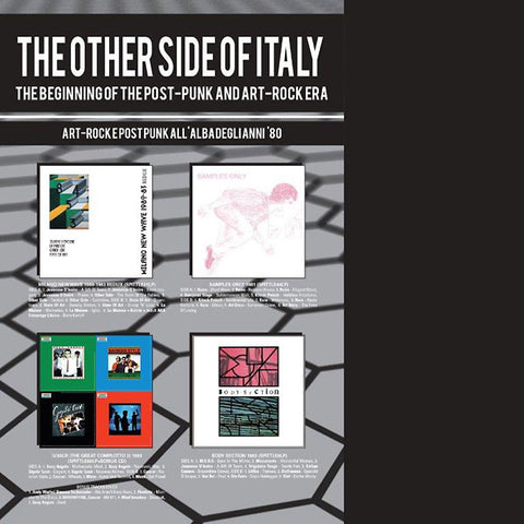 V/A - The Other Side Of Italy: The Beginning of The Post-Punk and Art-Rock Era
