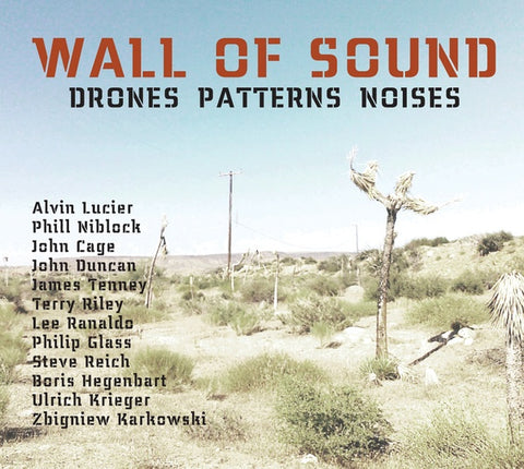 KRIEGER, ULRICH - Wall Of Sound: Drones Patterns Noises