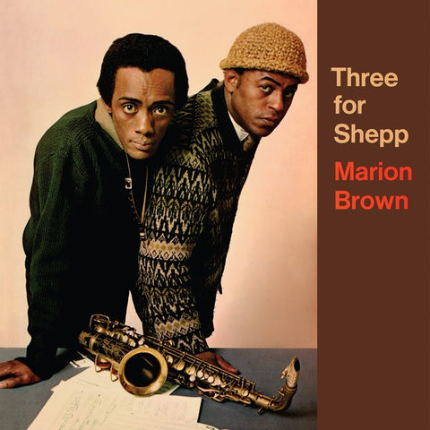 BROWN, MARION - Three for Shepp