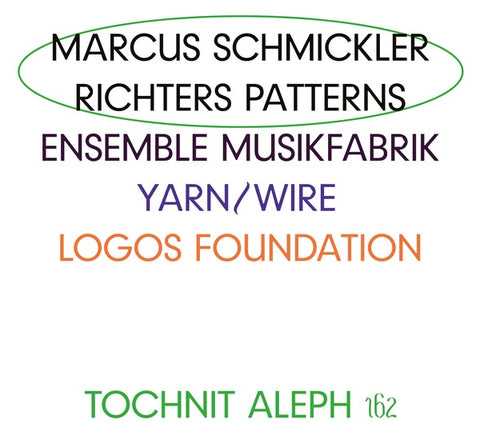 SCHMICKLER, MARCUS - Richters Patterns