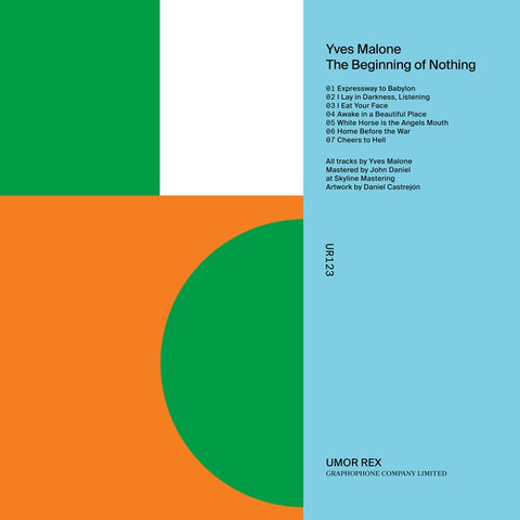 MALONE, YVES - The Beginning of Nothing
