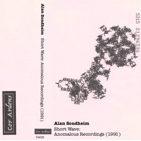 SONDHEIM, ALAN - Short Wave: Anomalous Recordings (1991)