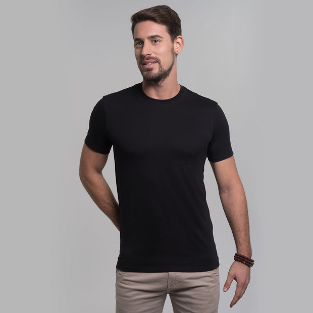 Men Crew Tee, 100% Organic Peruvian Pima Cotton
