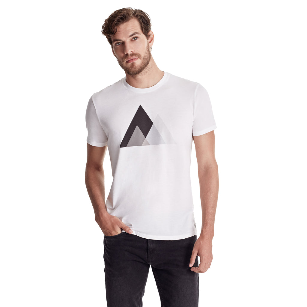 Men MOUNTAIN BLOCKS Graphic Tee