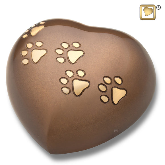LovePaws™ Heart Bronze (Large) - P630L