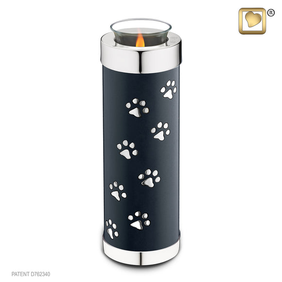 Pet Midnight Tall (Tealight Urn) - T656