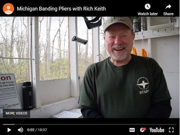 Michigan Banding with Rich Keith: Banding Tips and Plier Use