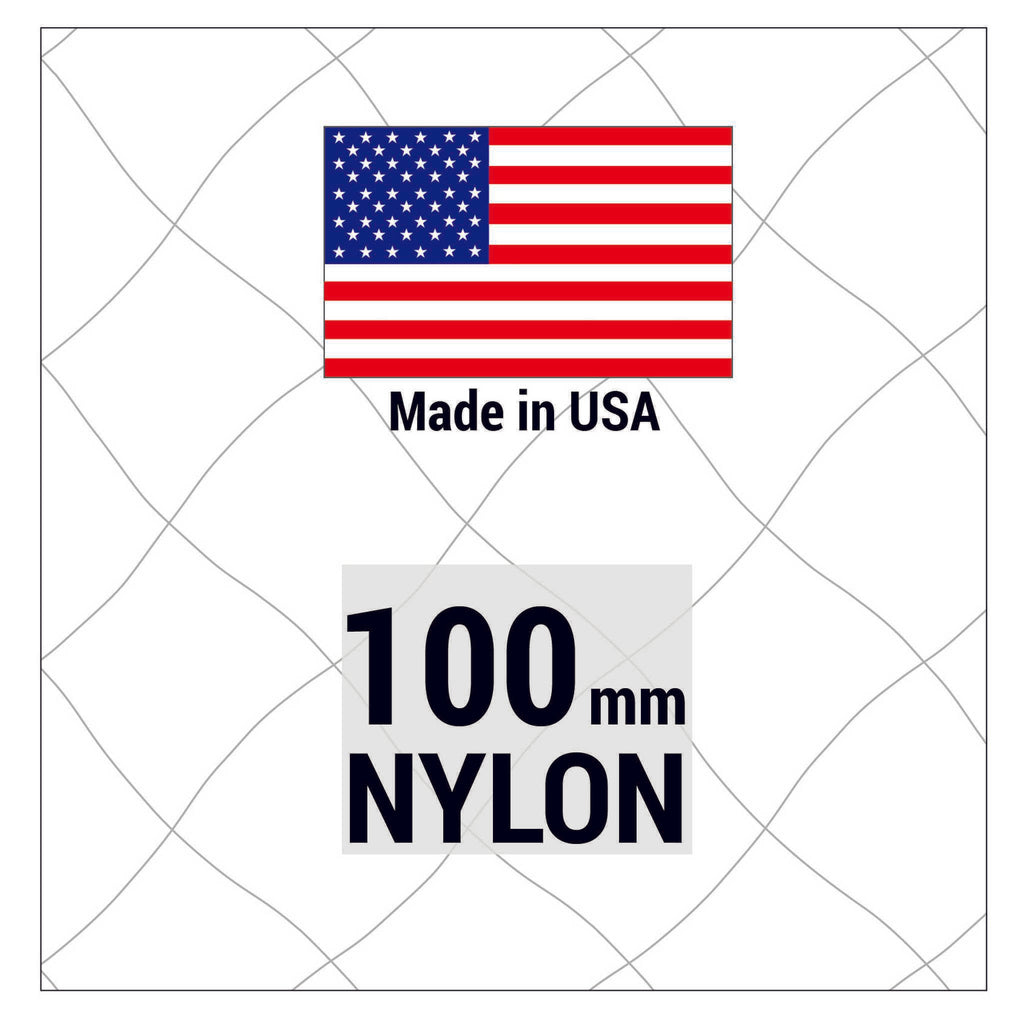 Avinet Nylon 100mm mesh - 210/4 denier/ply - Five Shelf