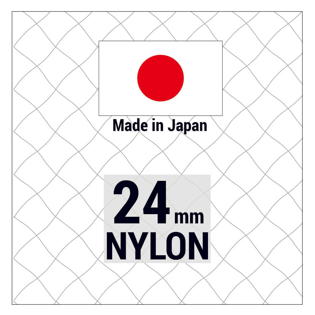 Japanese Nylon 24mm mesh
