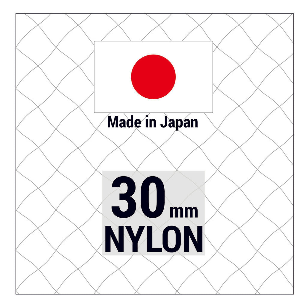 Japanese Nylon 30mm mesh