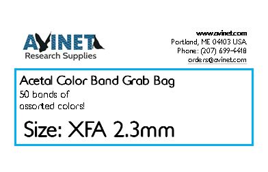 Clearance: Acetal Color Band Grab Bag - XFA 2.3mm