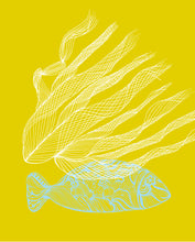 Plakat / Poster - Yellow Fish