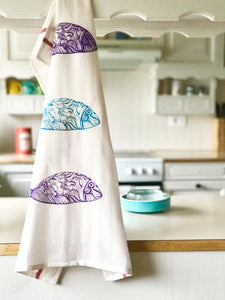 Viskastykki fiskar - Kitchen Towel Fish